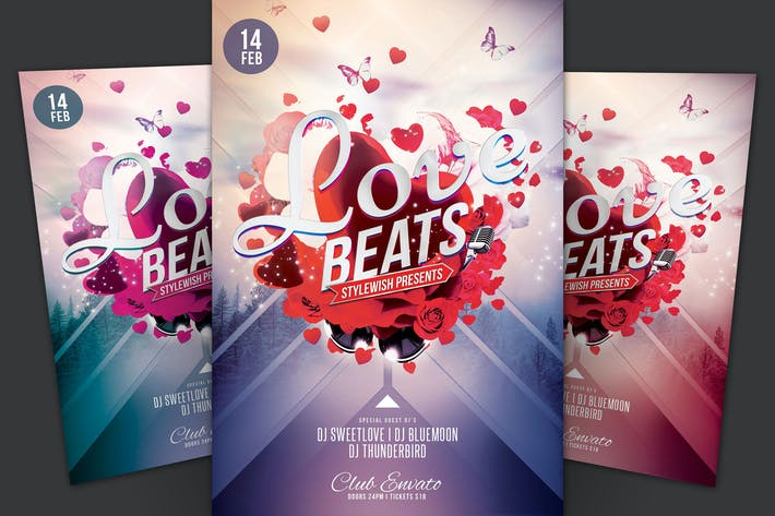 Thumbnail for Love Beats Flyer