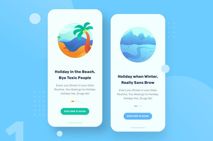 Thumbnail for Camp Badge - Beach & Winter
