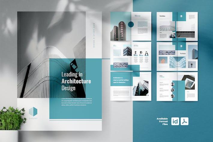 The START ArchitekturPortfolio Broschüren