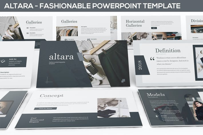 Thumbnail for Altara - Photography & Fashion Powerpoint