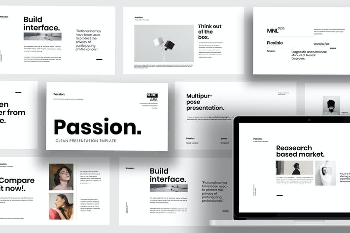 Thumbnail for Passion - Minimal Clean Business Powerpoint