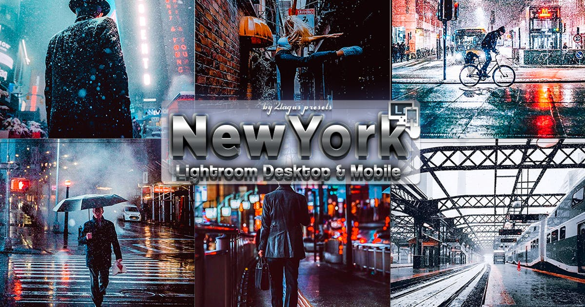 Download New York Winter Lightroom Presets Phone & PC by 2lagus