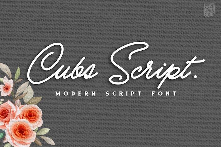 Thumbnail for Cubs Script