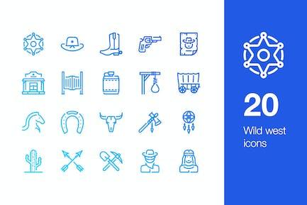 20 Wilde West-Symbol