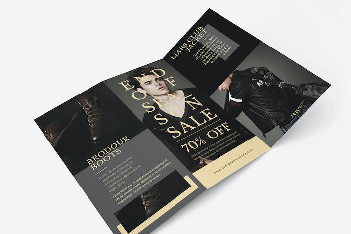 Fashion Trifold Brochure