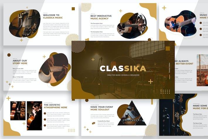 Thumbnail for Шаблон презентации Classika