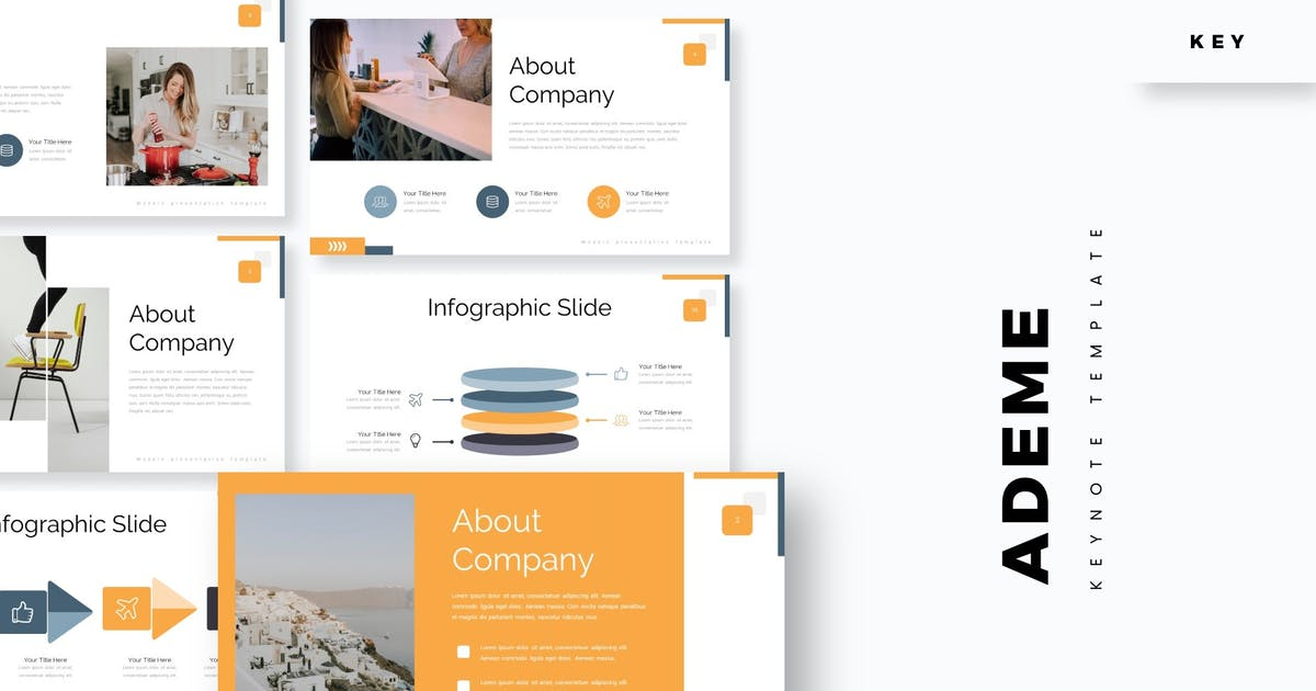 Download Ademe - Keynote Template by aqrstudio