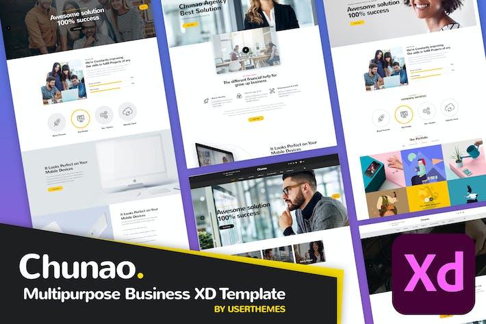Chunao - Multipurpose Business XD Template