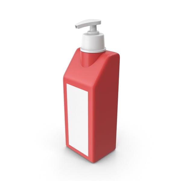 Sanitizador de manos Rojo