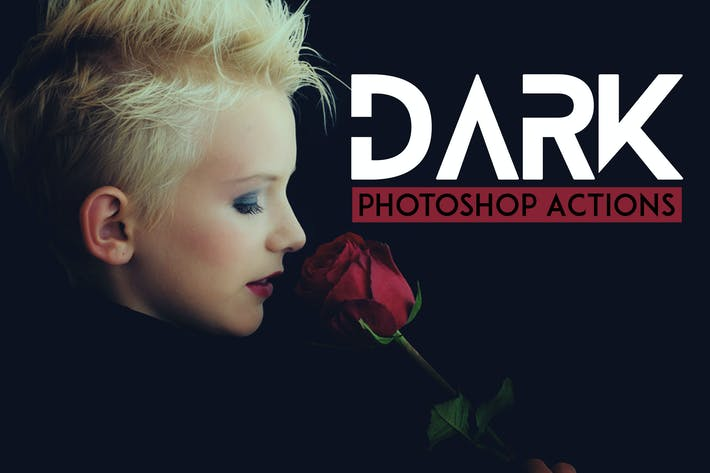 Thumbnail for Dark Photography Photoshop Actions