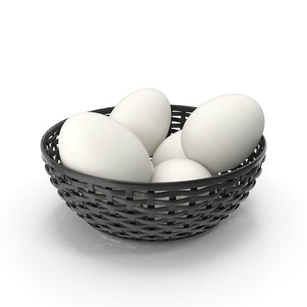 Bowl Of White Eggs