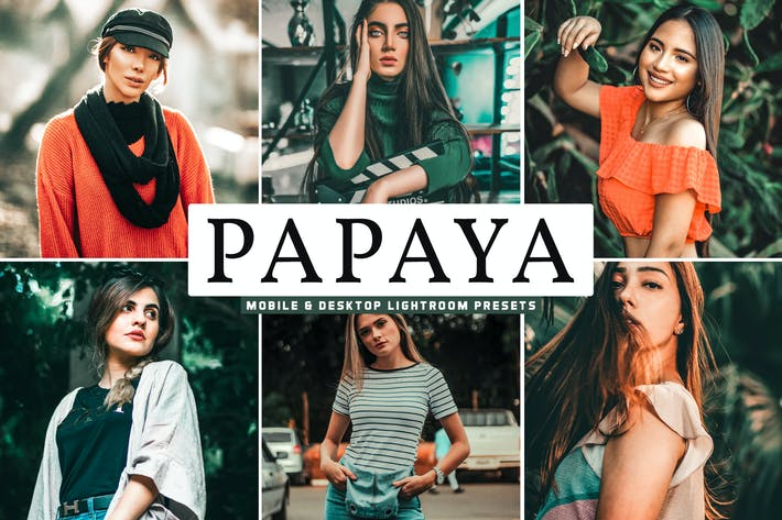 Thumbnail for Papaya Mobile & Desktop Lightroom Presets