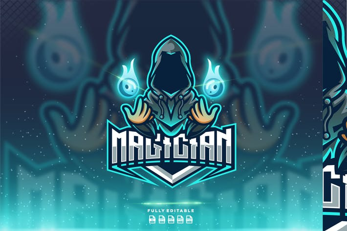 Thumbnail for Magician Warrior Logo