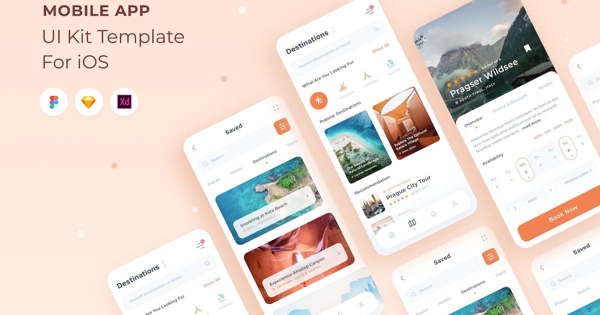 Download Travel Organizer UI Kit for Mobile App by CreativeZeune