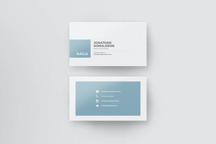 Thumbnail for Naga - Business Card Template
