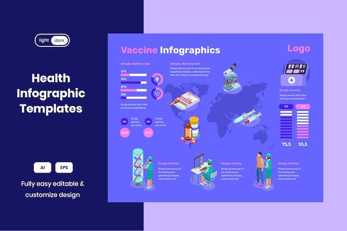 Healthcare Infographic : Vaccine
