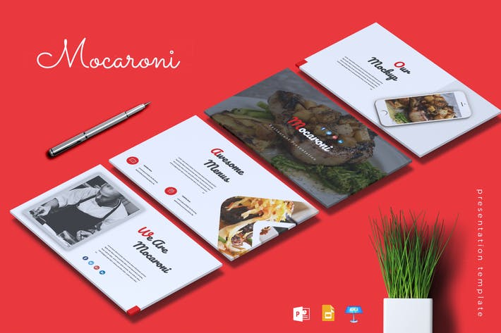 Thumbnail for MOCARONI - Restaurant & Food Powerpoint/Keynote