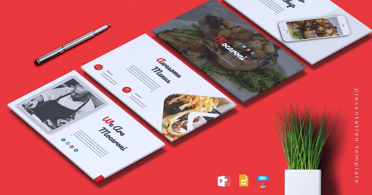Download MOCARONI - Restaurant & Food Powerpoint/Keynote by RahardiCreative