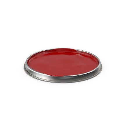 Tapa para latas de pintura.