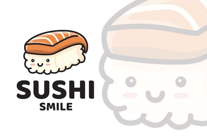 Thumbnail for Sushi Smile Cute Logo Template
