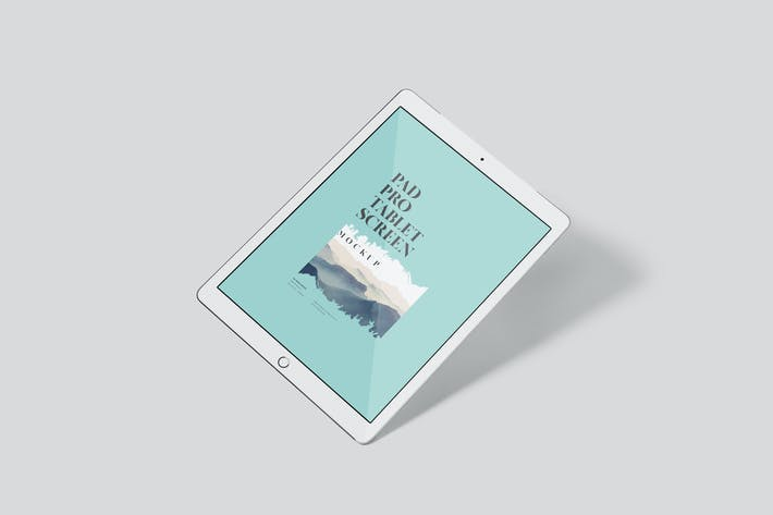 Thumbnail for Pad Pro Tablet Screen Mockup Set