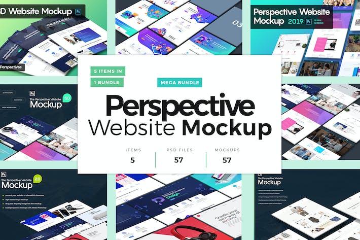 Thumbnail for Perspective Mockup Mega Bundle