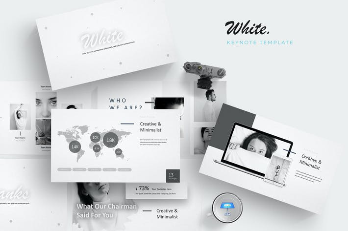 Thumbnail for White - Keynote Template