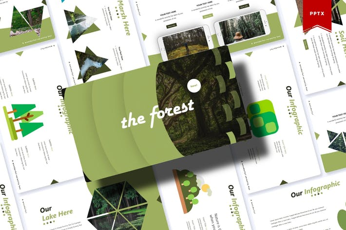 Thumbnail for The Forest | Powerpoint Template