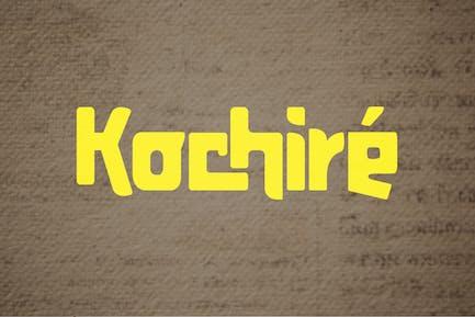 Kochire Font