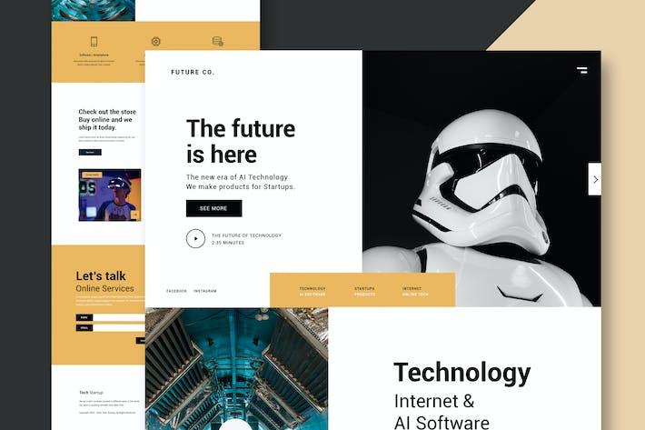 Thumbnail for Technology Business - Website