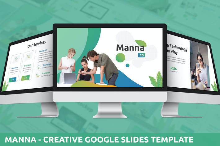 Thumbnail for Manna - Creative Google Slides Template