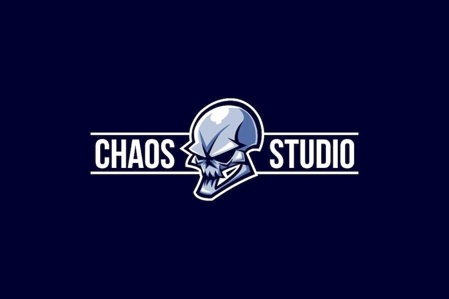 Evil Skull Logo