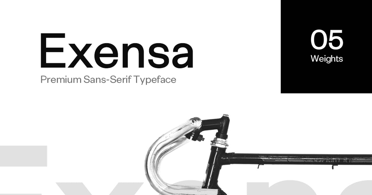 Download Exensa Grotesk - Sans Serif Typeface & Web Fonts by designova