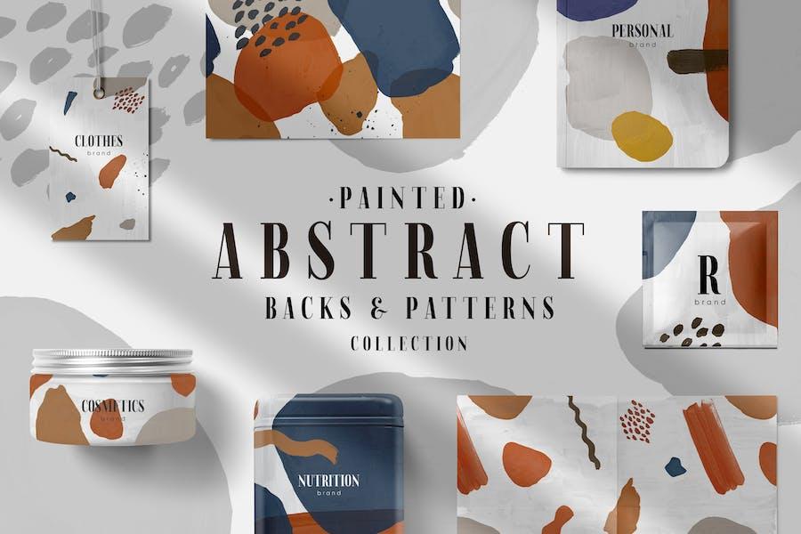 Abstrakte Muster und Rücken