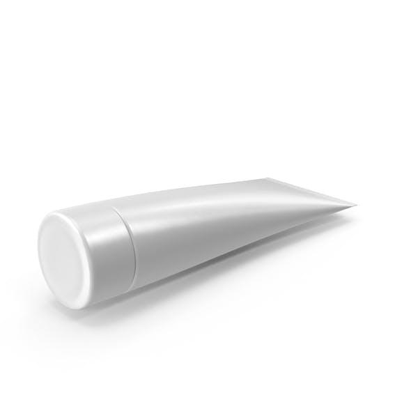 Tubo de compresión en blanco