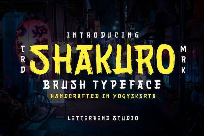 Thumbnail for Shakuro - Brush Typeface