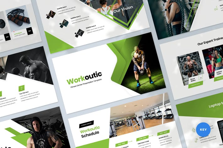 Fitness & Workout Presentation Keynote Template