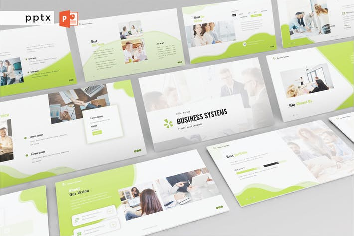 Thumbnail for BUSINESS SYSTEMS - Powerpoint V506