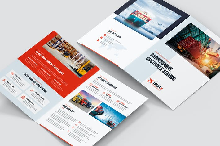 Thumbnail for Brochure – Transport Logistic Bi-Fold