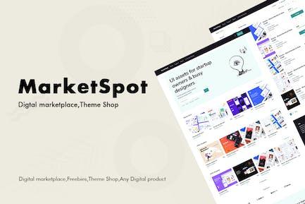 Marketspot - Digital Marketplace Template for Crea