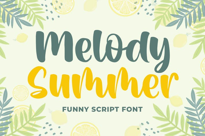 Thumbnail for Melody Summer Funny Script Fuente