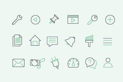 30 WordPress UI Icons
