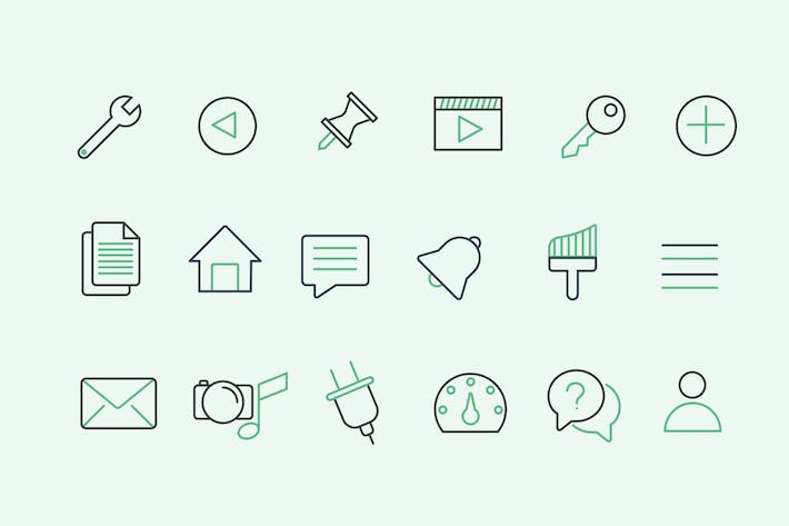 Thumbnail for 30 WordPress UI Icons