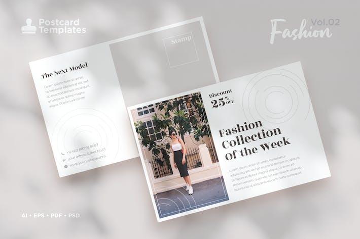 Thumbnail for Postcard Template Vol.02 Fashion