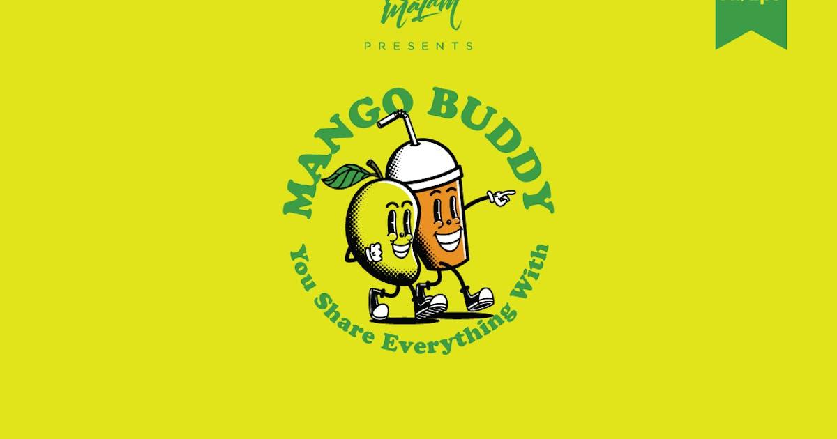 Download Mango Buddy Logo Template by Ijajil