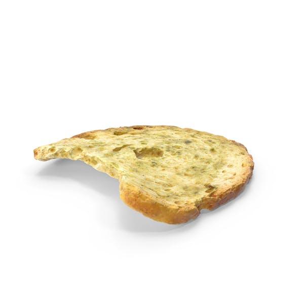 Bread Chip Roll Bitten