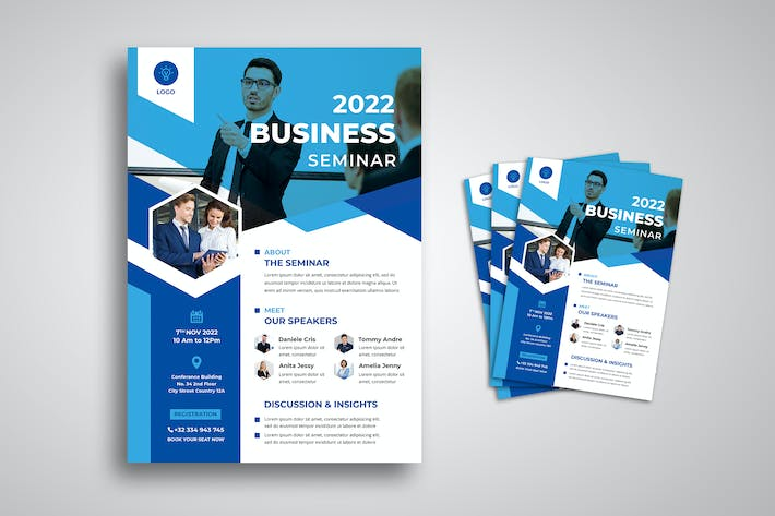 Thumbnail for Business Seminar Flyer