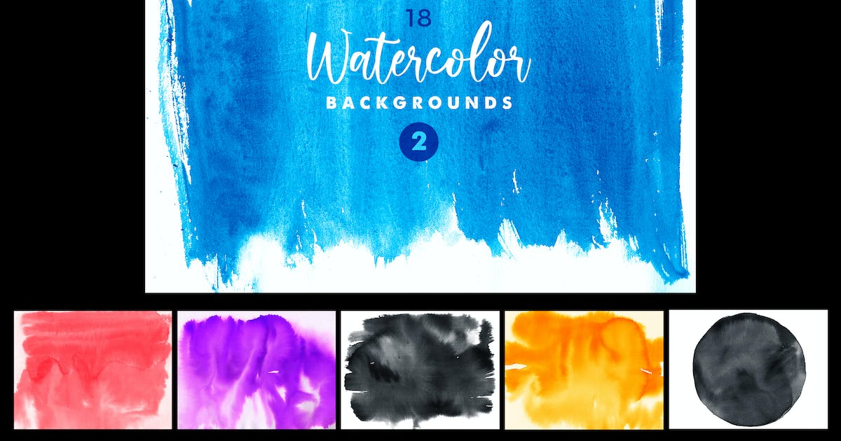Download Watercolor Backgrounds 2 by creativeartx