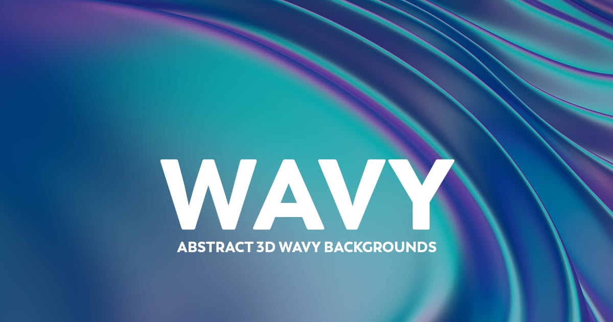 Download Abstract 3D Wavy Backgrounds by mamounalbibi