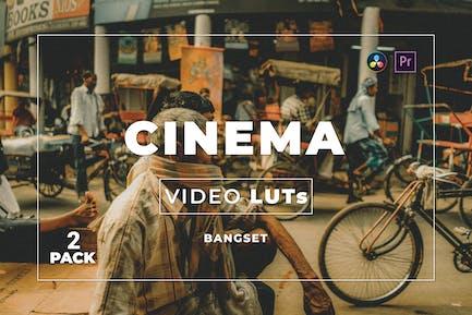 Bangset Cinema Pack 2 Video LUTs